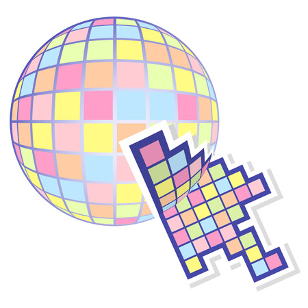 Click color bubble Stock Vector - 22593983