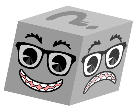 comedy disguise: Cube expression