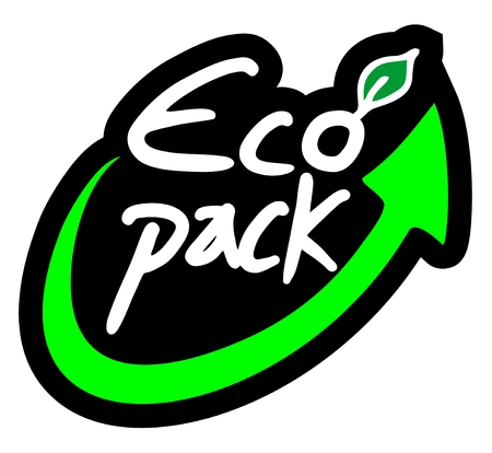 Eco pack icon Vector