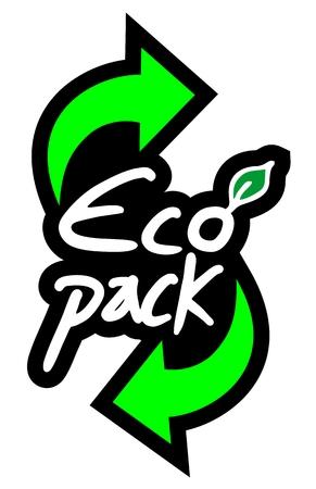 Eco pack symbol