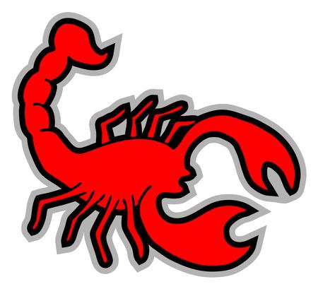 poisonous organism: Scorpion icon