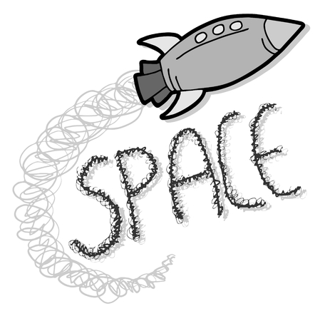 Space travel Vector