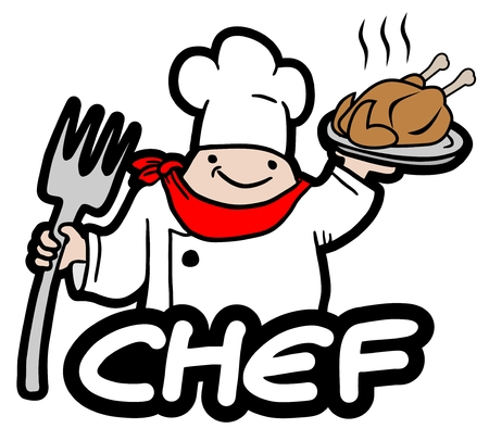 Creative chef Vector