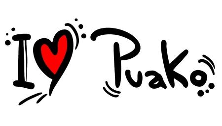 I love Puako