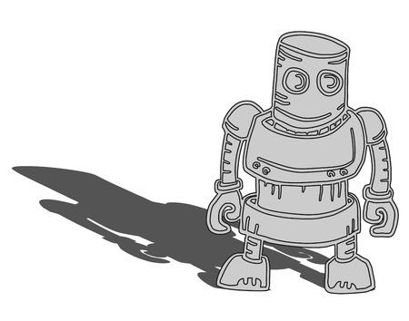 Creative robot Stock Vector - 22788223