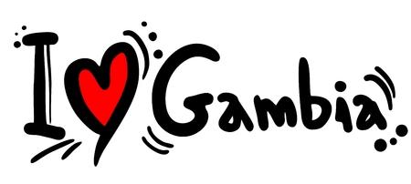 I love Gambia