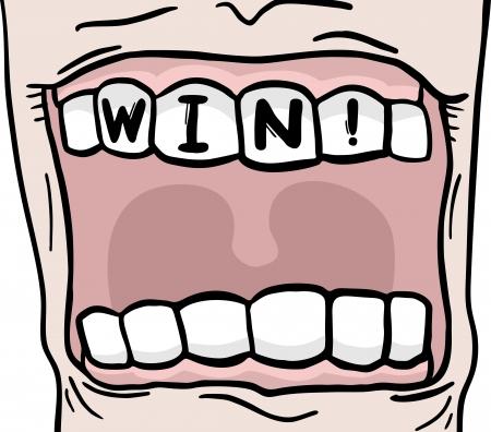 surpass: Win mouth message