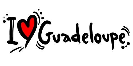 guadeloupe: I love Guadeloupe