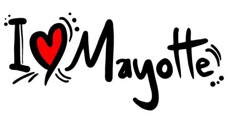 mayotte: I love Mayotte