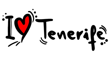 I love Tenerife Stock Vector - 23398022