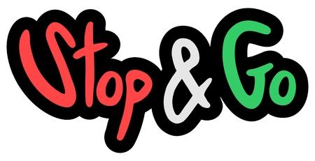immobilize: Stop   Go symbol