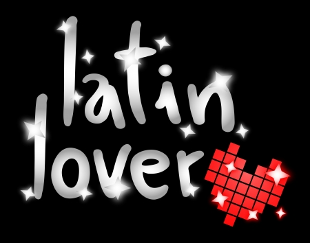 affiche: Latin lover message