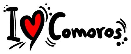 arabe: Me encanta Comoras