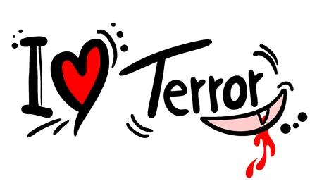 terror: Terror love