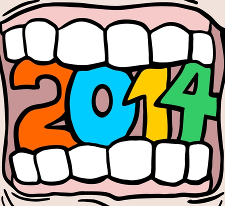 annuity: 2014 color mouth Illustration