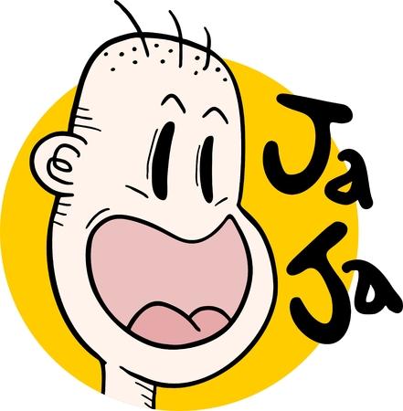 Joke boy Stock Vector - 24119106