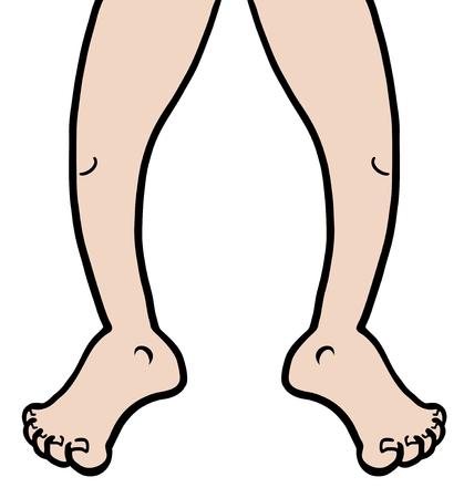 rumsteak: Jambes attirent Illustration