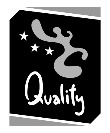 safety slogan: Quality emblem