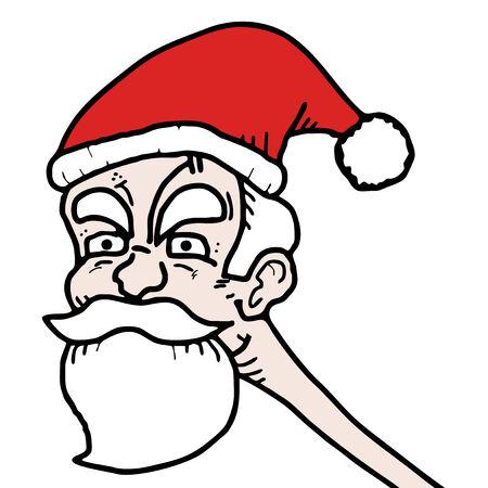 cretive: Santa Claus Illustration