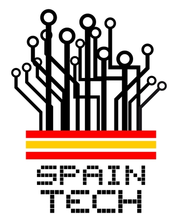 visionary: Spain tech Illustration