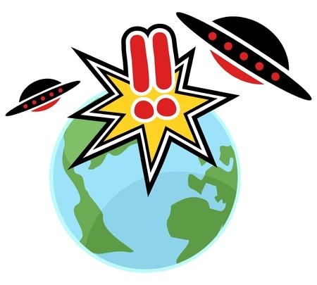 gasp: UFO attack world