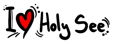 Holy See love Illustration