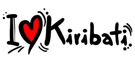 kiribati: Kiribati love