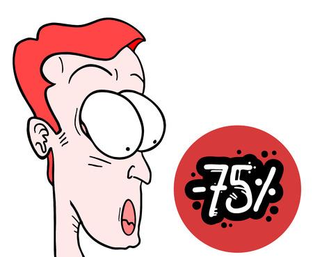 Big offer Illustration