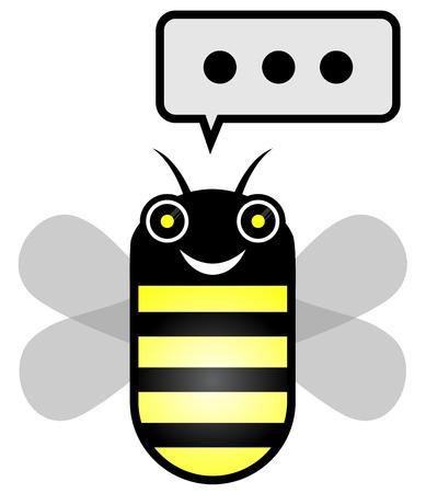treacle: Funny bee