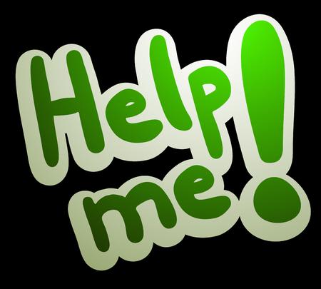 help me: Help me message
