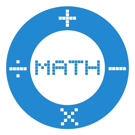 Math education symbol