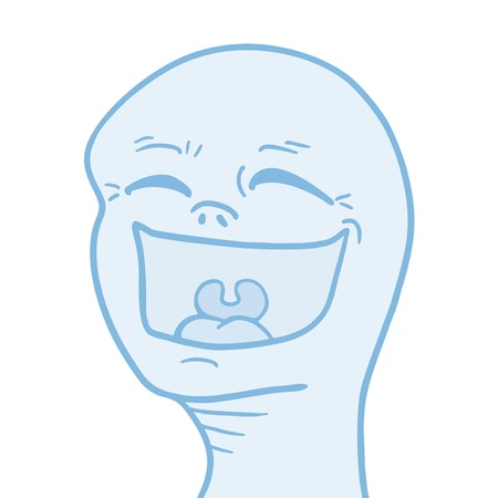 Joke face Illustration