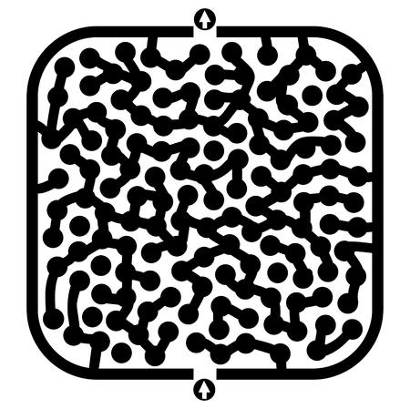 bustle: Creative maze game
