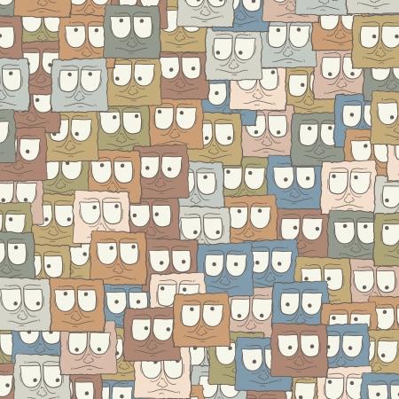 visionary: Art mosaic Illustration