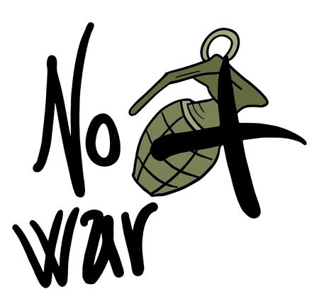 no war: No war Illustration