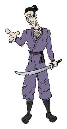 avenger: Samurai soldier