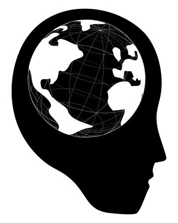 intent: World brain face