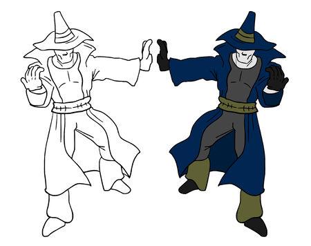 mystery man: Mystery man Illustration