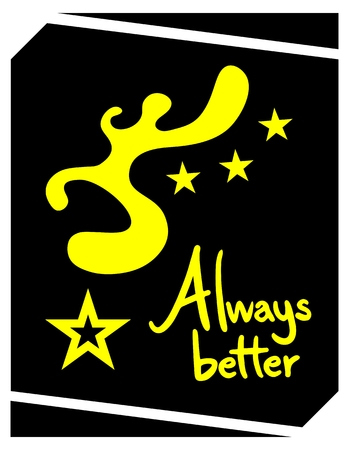 better: Always better emblem