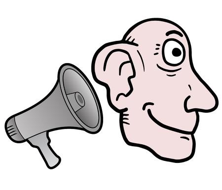 poner atencion: Asesorar Meg�fono