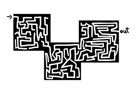 bustle: Cube maze design