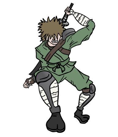 avenger: Samurai attack