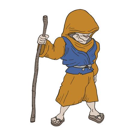 pygmy: Old man draw