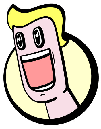 Amazing expression icon