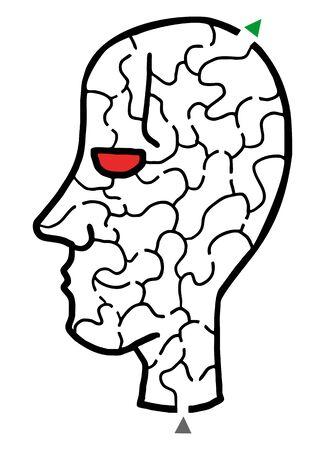 bustle: Face puzzle