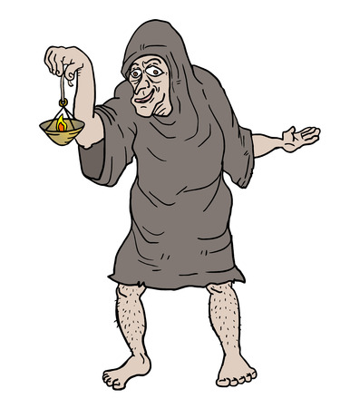 pauper: Old ugly man
