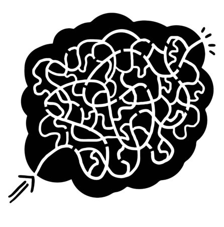 bustle: Original maze design