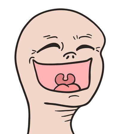 Joke happy face