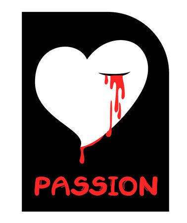 страсть: Сердце страсть Иллюстрация