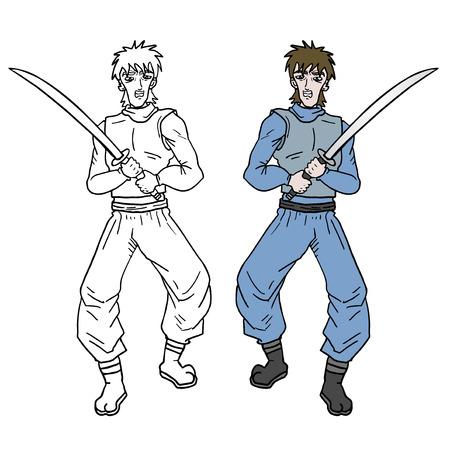 avenger: Sword soldier Illustration